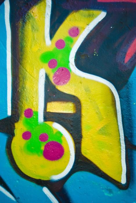 Vinylová Tapeta Kool Graffiti zavřít - Umění a tvorba