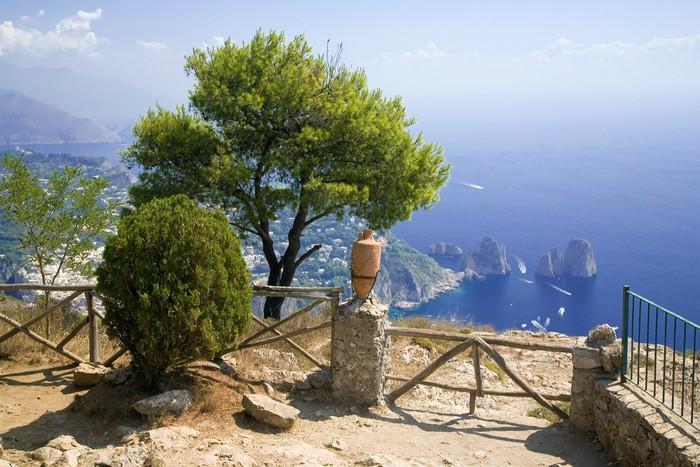 Vinylová Tapeta Capri. Itálie. - Evropa