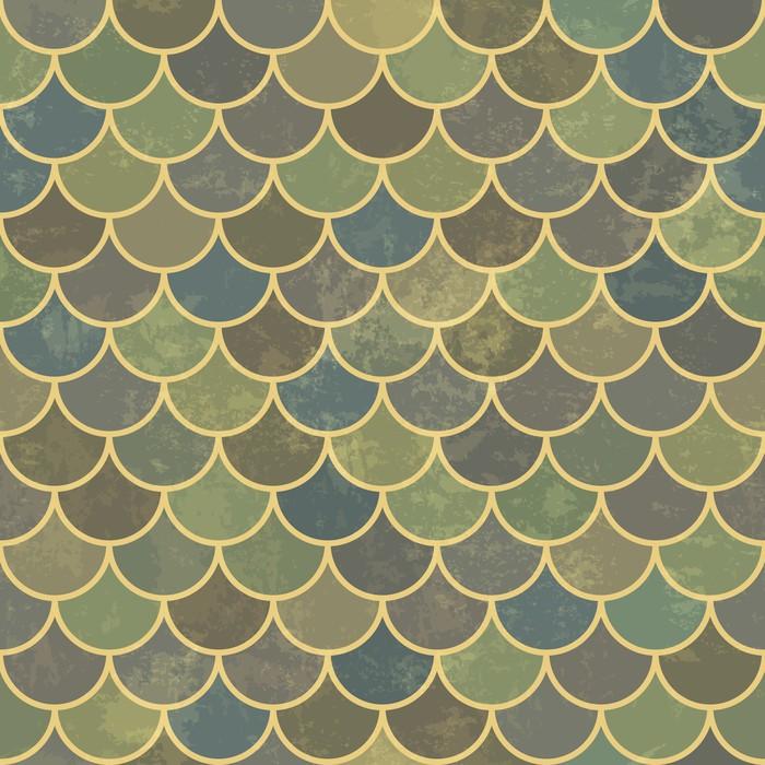 papier peint caille de poisson asiatique bleu r tro motif grunge et transparente grunge. Black Bedroom Furniture Sets. Home Design Ideas
