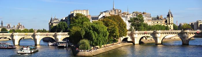 """Vinylová Tapeta France, Paris: panoramatický výhled """"ile of citovat"""" - Evropská města"""