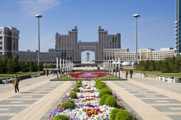 Vinylová Tapeta Avenue of the Republik s Ministerstvem přírodních zdrojů - Asie