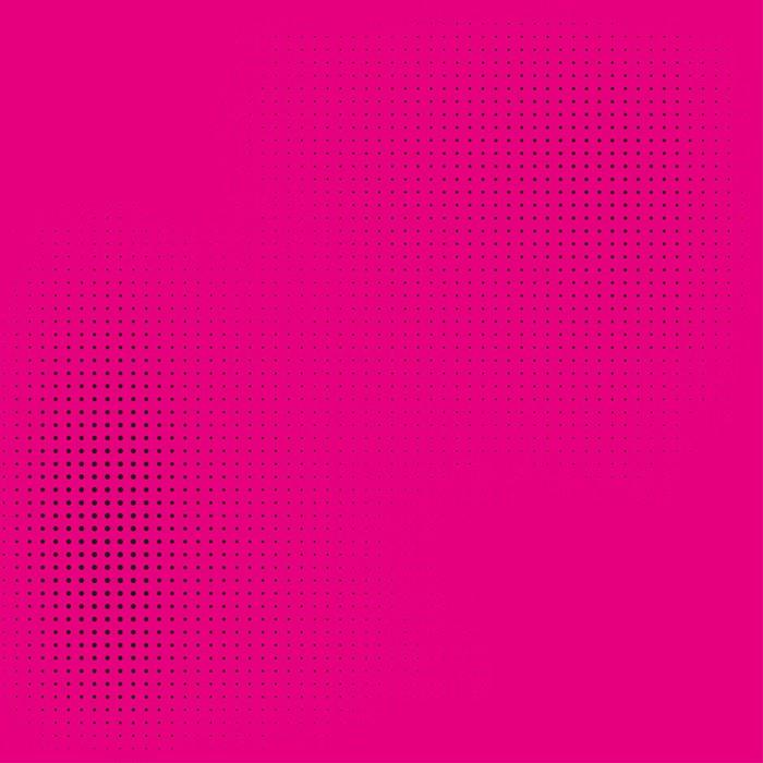Vinylová Tapeta Půltón na růžové pozadí stylové komiksového stylu - Značky a symboly