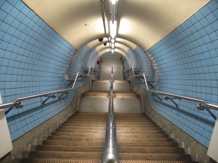 Vinylová Tapeta London Underground - Železnice