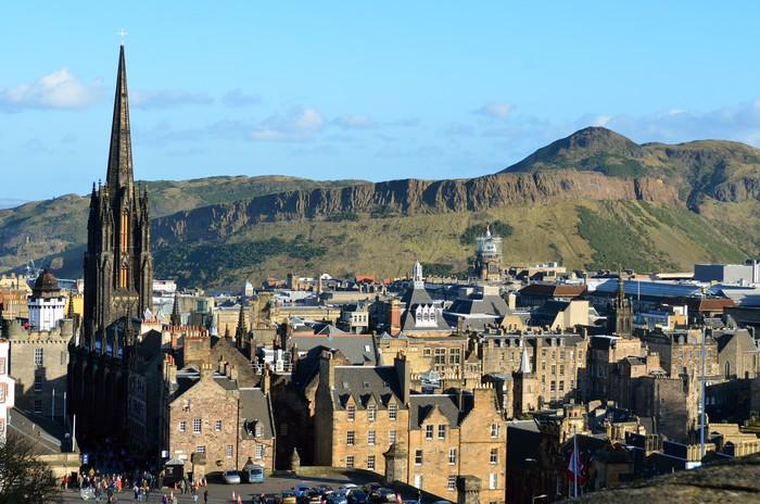 Vinylová fototapeta Edinburgh, Skotsko, Velká Británie .. - Vinylová fototapeta