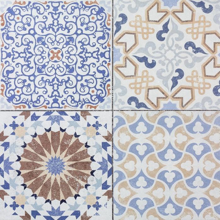 Sticker belles anciennes c ramiques motifs muraux de for Carreaux muraux