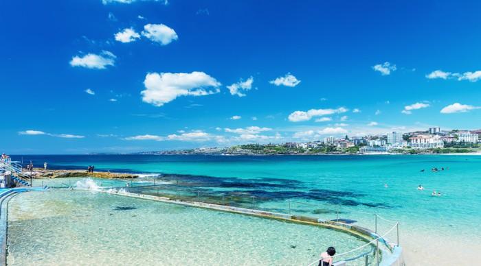 Vinylová Tapeta Bondi Beach a pobřeží, Sydney - Austrálie - Jiné
