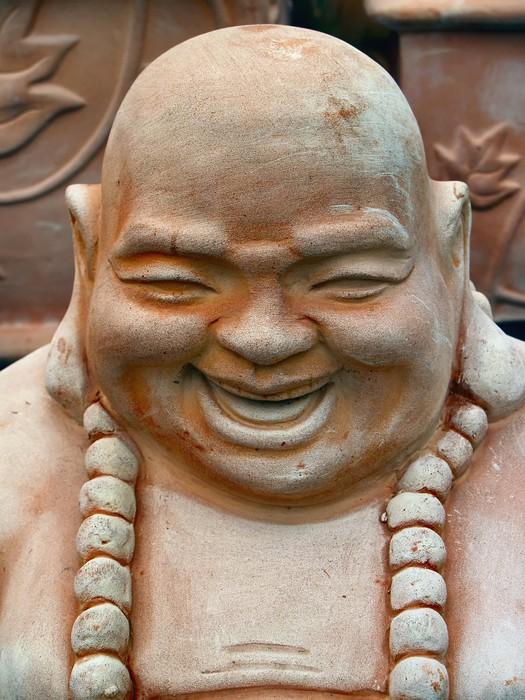 Vinylová Tapeta Laughing Buddha - Témata