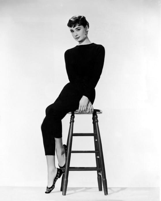 Vinyl-Fototapete Audrey Hepburn - Criteo